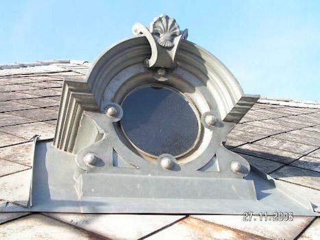 Ornamental Zinc Dormer