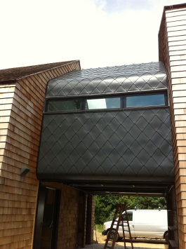 Hamptons, New York aluminum shingles