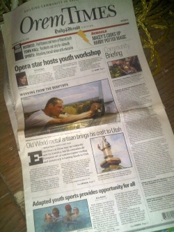 Featuring Our Work in Newspapers