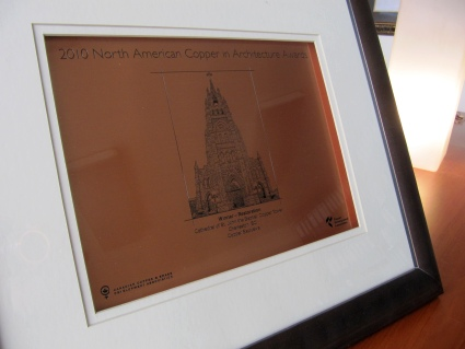 North American Copper Architecture Award 2010 Restoration