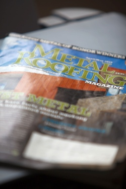 Featuring Copper Exclusive in Metal Roofing Magazin