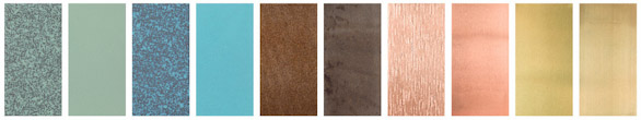 Nordic copper finishes