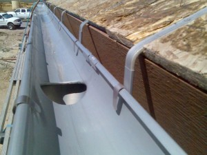 We recommend counter sinking the on roof mount brackets into the roof substrate